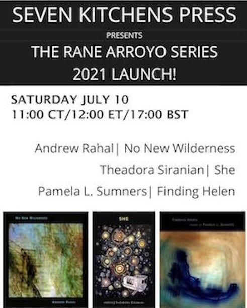 Rane Arroyo Series Reading 2021 Poster